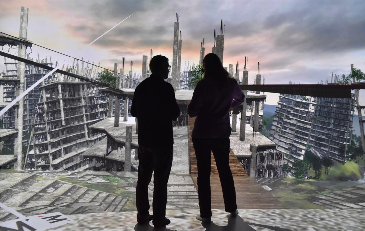 Vertigo simulation