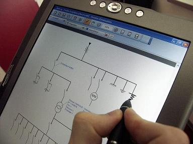 Interface de schémas électriques