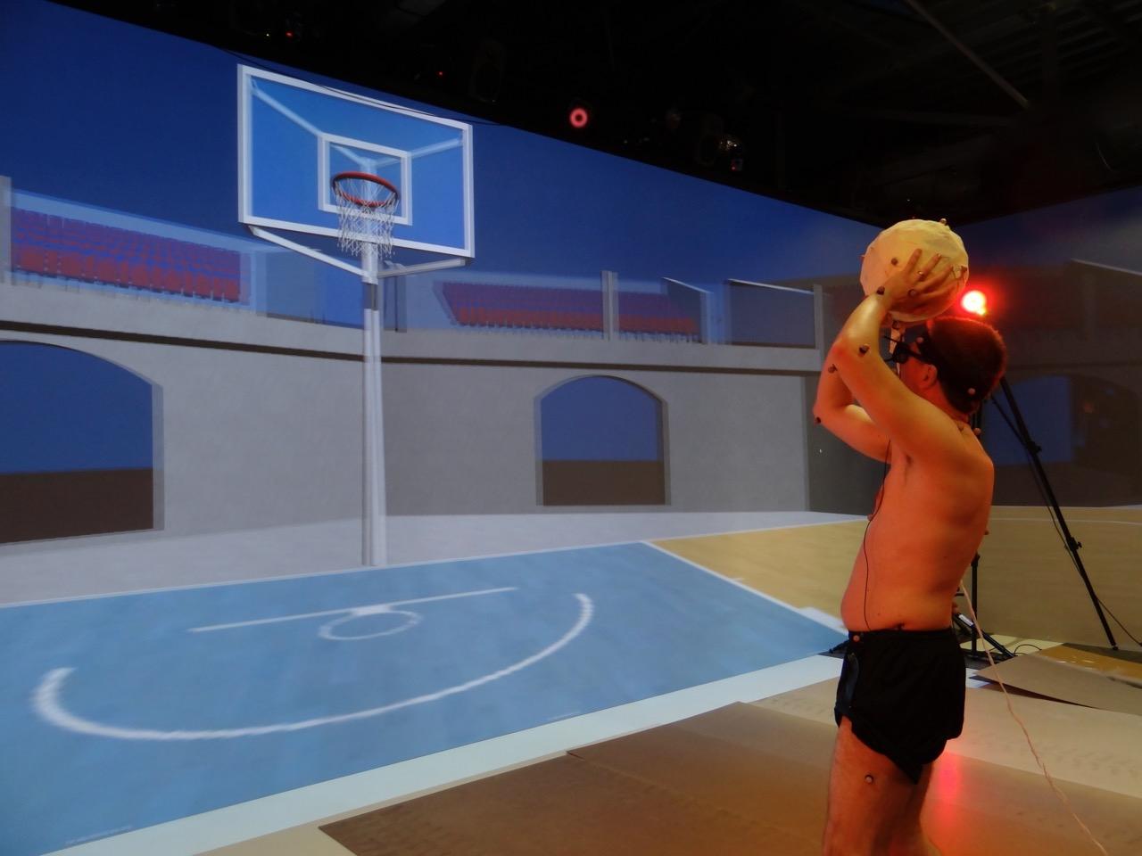 Basketball simulation