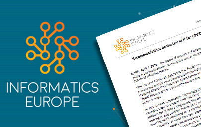 Lgo Informatics Europe avec aperçu du document