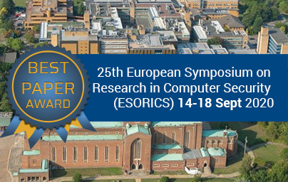 Cocarde BEST Paper award et mention 25th European Symposium on Research in Computer Security (ESORICS)