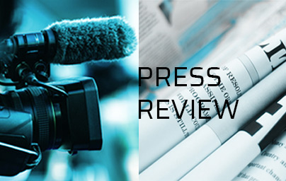 Camera et journaux Texte: press review
